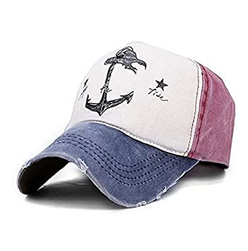 Selldorado® - Gorra de béisbol retro, estilo vintage, burdeos: Amazon.es: Deportes y aire libre