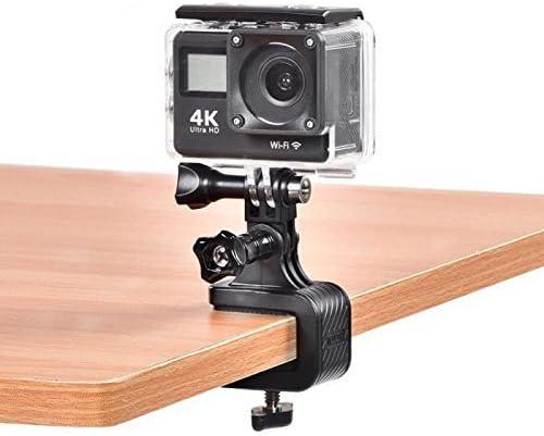 AuyKoo 180 Grad drehbare Multifuctional Skateboard Mount Halterung St/änder Clip f/ür GoPro Hero 9 8 7 Black Xiaomi YI 4K EKEN Aktion Kamera DJI Osmo Action