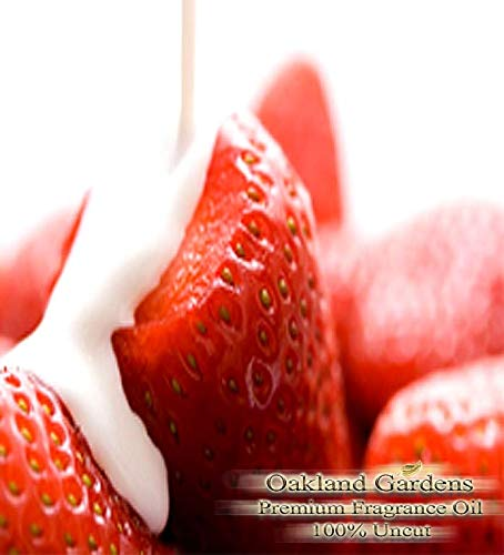 (S) Strawberries & Cream Reed Sticks & Diffuser Oil by OG - Refreshing Notes of ripe, Juicy Strawberries dolloped with a Touch of Freshly Whipped Cream (16 oz (480 ml)) by Premium Reed & Diffuser Oils by OG (Image #3)
