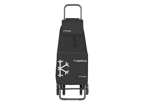 Rolser Carro de Compra SAQ027 Color Negro, Saquet Termo LN Dos, 108