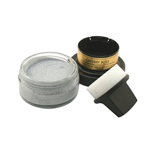 (Creative Expressions Silver Chrome - Cosmic Shimmer Glitter Kiss)