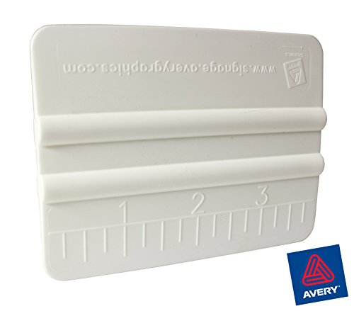 VViViD Avery White High-Glide Rigid Plastic Handheld Vinyl Wrap Application Squeegee ()