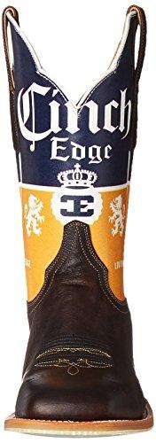 Cinch Kanten Menns Cerveza Riding Boot Sjokolade