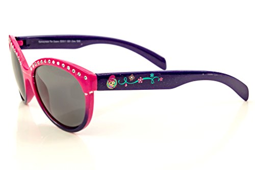 Nickelodeon Shimmer and Shine Girl's Sunglasses in Pink and Purple with Studs