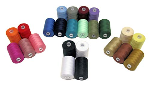 4 Assorted Cotton Sewing Thread Spools Back And White Machine Hand