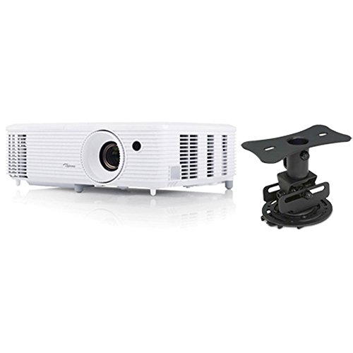 1080p 3d Package - Optoma HD27 1080p 3D Home Theater Projector with Mustang Projector Mount Bundle