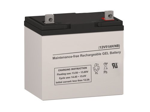 MK Battery M22NF SLD G Gel Cell Replacement Battery by SigmasTek (22nf Gel)