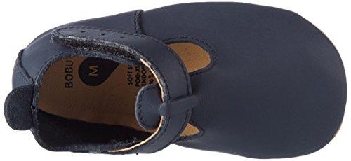 Bobux Unisex Baby T-Bar Navy Slipper Blau (Navy)