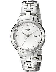 Tissot Womens TIST0822101103700 T12 Analog Display Swiss Quartz Silver Watch