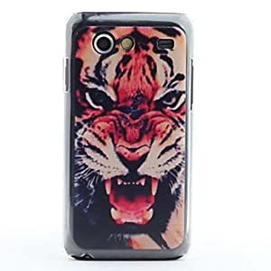 ZCL sold out Tiger Head Pattern Protective PVC Back Case for Samsung Galaxy S Advance i9070