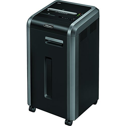 Fellowes Powershred 225i 100% Jam Proof 22-Sheet Strip-Cut Commercial Grade Paper Shredder (3322001) (Fellowes 225i)