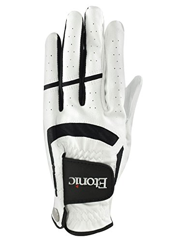 Etonic Golf- MLH Stabilizer F1T Sport Glove White Black 4 Pack