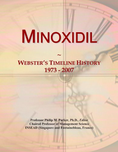 Price comparison product image Minoxidil: Webster's Timeline History, 1973 - 2007