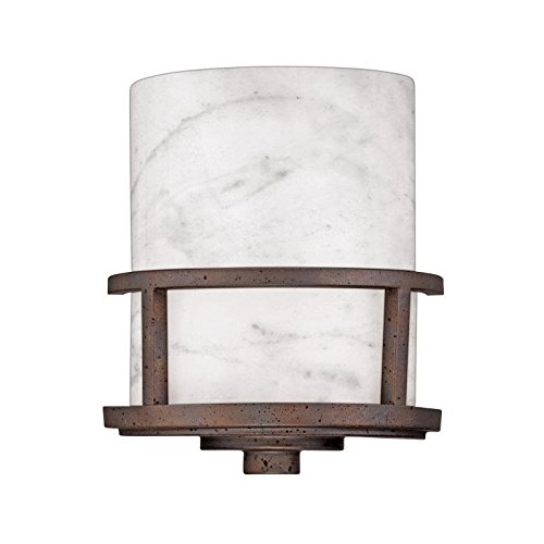 - Quoizel KY8801IN Kyle Rustic Wall Sconce, 1-Light, 75 Watts, Iron Gate (11