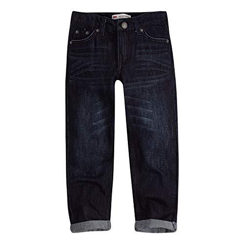 Denim Levis Boys - Levi's Boys' Little 502 Regular Fit Taper Jeans, Penalty, 6