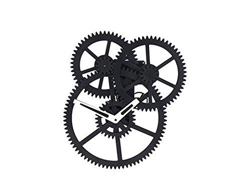 KIKKERLAND DESIGN TRIPLE GEAR WALL CLOCK [CL59] [並行輸入品] B071KBMZY5
