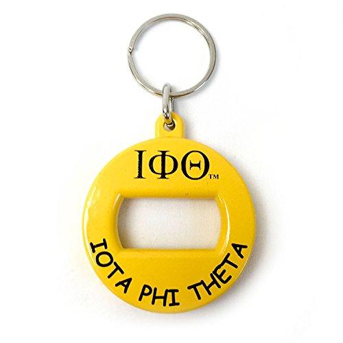 - Iota Phi Theta Fraternity Bev Key Bottle Opener Keychain