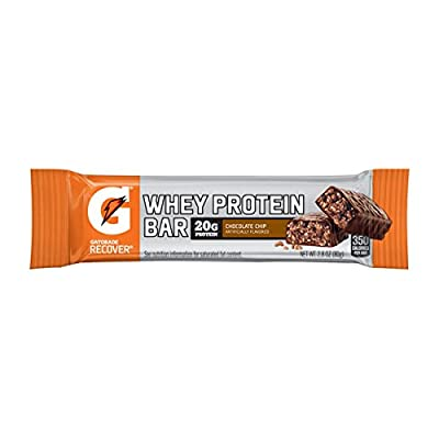 Gatorade Whey Protein Recover Bars, 12 Count