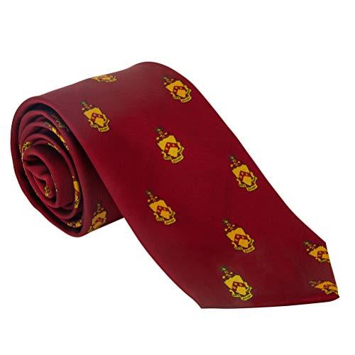 Phi Kappa Tau Fraternity - Phi Kappa Tau Fraternity Necktie Tie Greek Formal Occasion Standard Length Width Phi Tau (Repeating Crest Necktie)