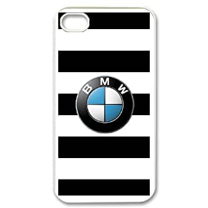 BMW Car Logo For iPhone 4,4S Custom Cell Phone Case Cover 98II655586