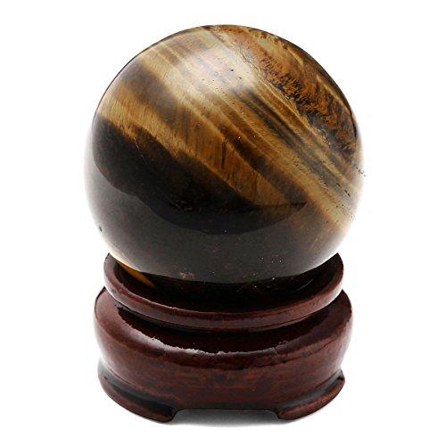 Tiger Eye Quartz Crystal Sphere - QGEM 2