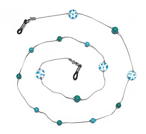 Handmade Glass Beaded Eyeglass Holder, Eyeglass Chain, Eyeglass Lanyard