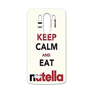 Keep Calm And Eat Nutella Brand New And High Quality Hard Case Cover Protector For LG G3