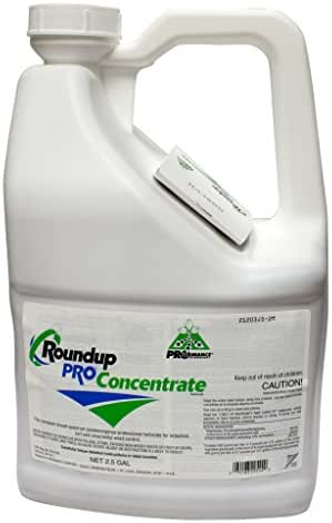Round Up Pro Concentrate 50.2% Glyphosate 2.5 Gallon Jug Systemic Herbicide