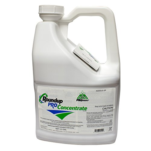 Round Up Pro Concentrate 50.2% Glyphosate 5 Gallons 2 x 2.5/gal jug Systemic - Weed Systemic Killers
