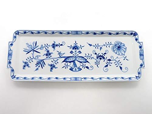マイセン プレート■ブルーオニオン スクエアプレート サンドウィッチトレイ 大皿 1枚 Meissen 1級品 美品 B07RRSVKBP