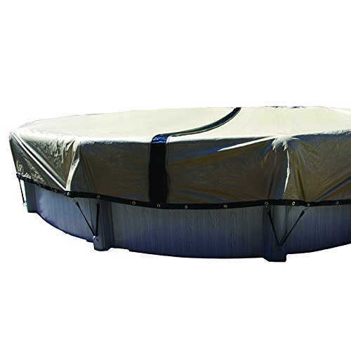 10-Year Ultimate 21-ft x 41-ft Oval Above Ground Pool Winter Cover (Cover Oval Winter Pool Armorkote)