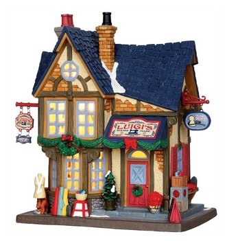 Christmas Village Houses.Amazon Com Lemax Christmas Village Luigis Custom Tailor