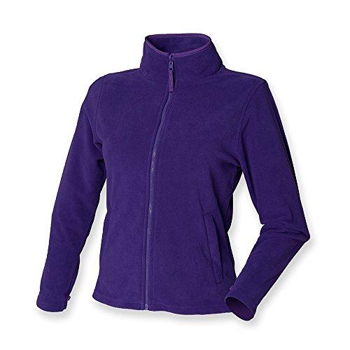 Ladies Jacket Micro Purple Henbury Fleece dqTptwqz