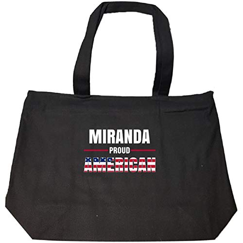 Miranda Proud American 4th July Independence Day Gift - Tote Bag With Zip