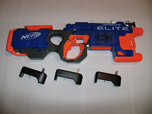 Modified Nerf Hyperfire 600 RPM with Battery ()