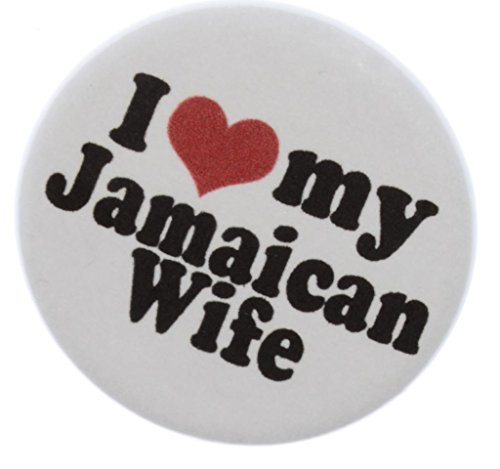 "I Love my Jamaican Wife 2.25"" Bottle Opener w/ Keyring  - Ja"