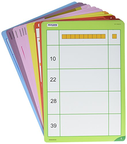 Miniland Base 10 Math Activity Pack -  Miniland Educational Corp, 95051