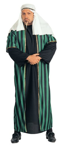 Rubie's Costume Plus-Size Costume Arab Sheik Costume, Black, (Arab Sultan)