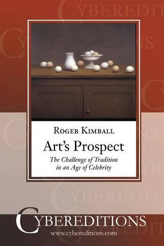 Read Online Art's Prospect (Cybereditions Critics Series) ebook