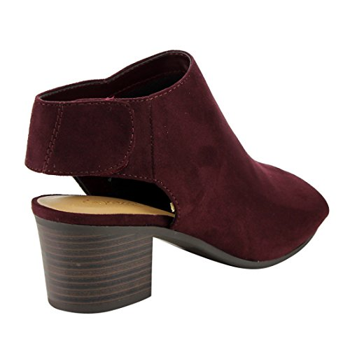 Stacked Ankle Strap Heel Bootie Block Cutout IB69 Vino Womens CityClassified OEPxwq46O