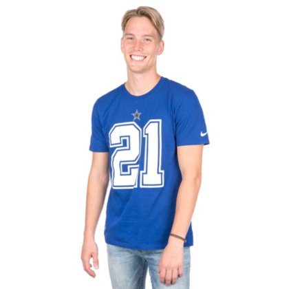 adca3a27d86 Image Unavailable. Image not available for. Color: Dallas Cowboys Nike  Ezekiel Elliott Name and Number Tee