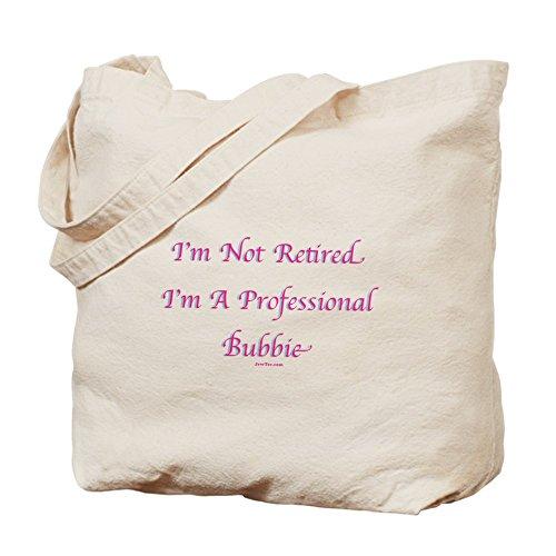CafePress–Professionale Bubbie yiddish–Borsa di tela naturale, panno borsa per la spesa