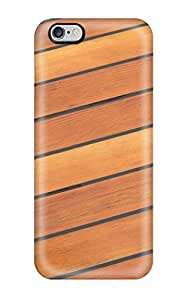 Protective Tpu Case With Fashion Design For Iphone 6 Plus (wood Floor Patterns)