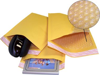 #0 Kraft Bubble Mailers 6.25''x9.25'' (1000 Qty) by ValueMailers