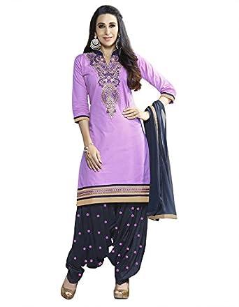 Florence Women's Cotton Salwar Suit Dupatta Material (SB-2891)