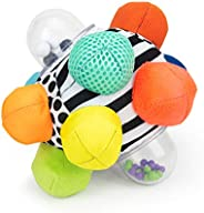 Sassy Developmental Bumpy Ball | Easy to Grasp Bumps Help Develop Motor Skills | for Ages 6 Months and Up | Co