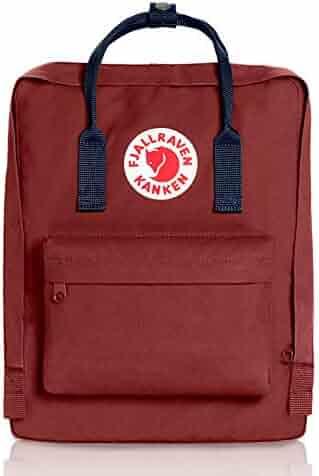 Fjallraven Kanken Backpack - Ox Red/Royal Blue