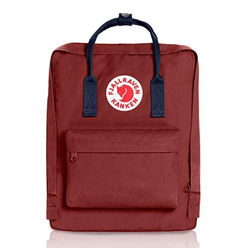 Fjallraven - Kanken Classic Backpack for Everyday, Ox Red/Royal Blue