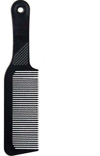 Diane 9.5 Inch Flat Top Clipper Comb Black (The Best Comb Over)