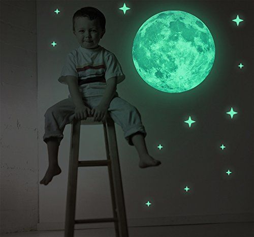 40cm-30cm-full-night-moon-with-stars-glow-in-the-dark-luminous-light-stickers-removable-adhesive-wal